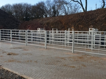 C&R Construction South West Ltd Race systems and handing facilities