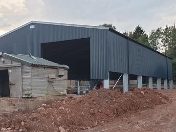 C&R Construction South West Ltd Grain stores