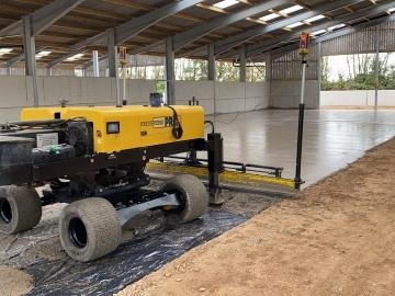 C&R Construction South West Ltd Laser screeding